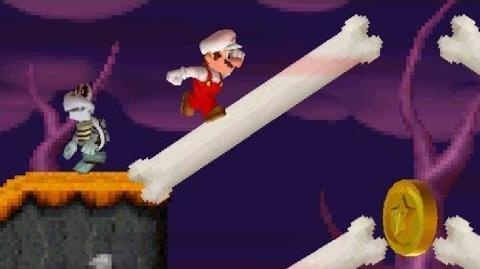 Pumpkin Boneyard (Newer Super Mario Bros. DS)