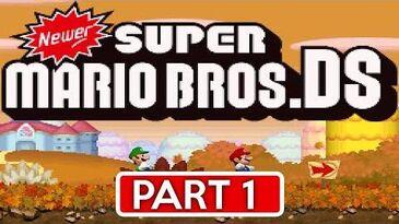 Newer_Super_Mario_Bros._DS_Goldleaf_Plains_(World_1_All_Star_Coins_&_Secret_Exits)