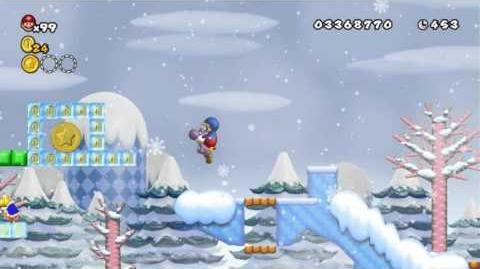 Newer_Super_Mario_Bros_Wii_World_5-2_Snowball_Field_Star_Coins