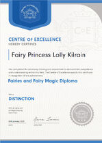 CoE Fairies FaerieMagic Diploma1.jpg