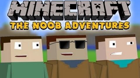 Minecraft The N00b Adventures - So Blocky, So Cool