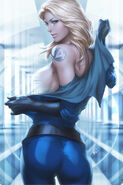 Invisible Woman Possessed