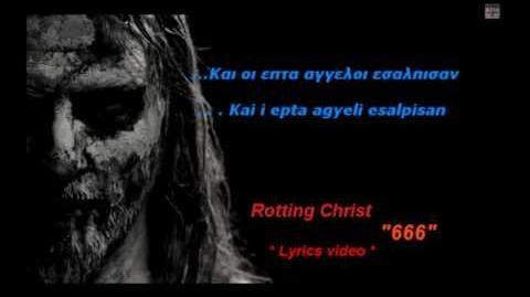 Rotting Christ 666 Lyrics