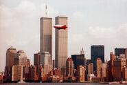 WTC Skyline Blimp