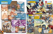 Nexo knights comics