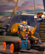Axl Battle Suit Upgrade