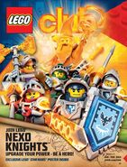 New Club magazine cover