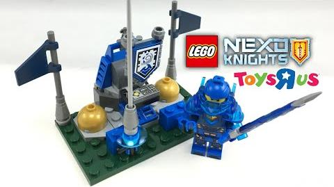 """LEGO Nexo Knights Shield Deck set review! Free Toys""""R""""Us Building Event!"""
