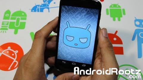 CyanogenMod 10.1 M3-3