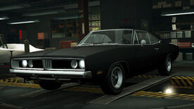 NFSW Dodge Charger RT Black