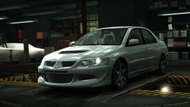 NFSW Mitsubishi Lancer Evolution VIII Grey
