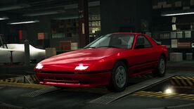 NFSW Mazda RX-7 FC3S Red