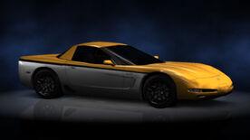 NFSHP2 PS2 Chevrolet Corvette Z06 NFS edition