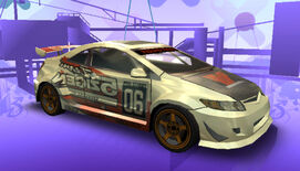NFSPS PSP HondaCivicSi RaceVersion