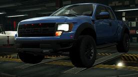 NFSW Ford F-150 SVT Raptor Blue