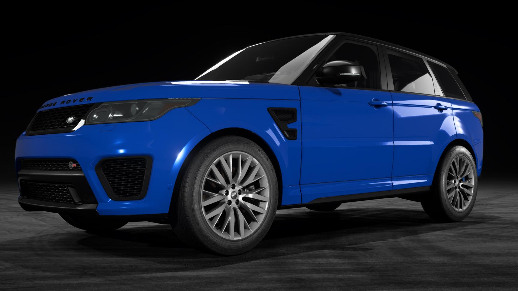 Land Rover Range Rover Sport SVR (L494)