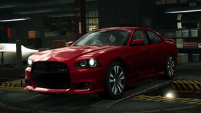 NFSW Dodge Charger SRT8 (2012) Red