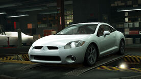 NFSW Mitsubishi Eclipse GT White