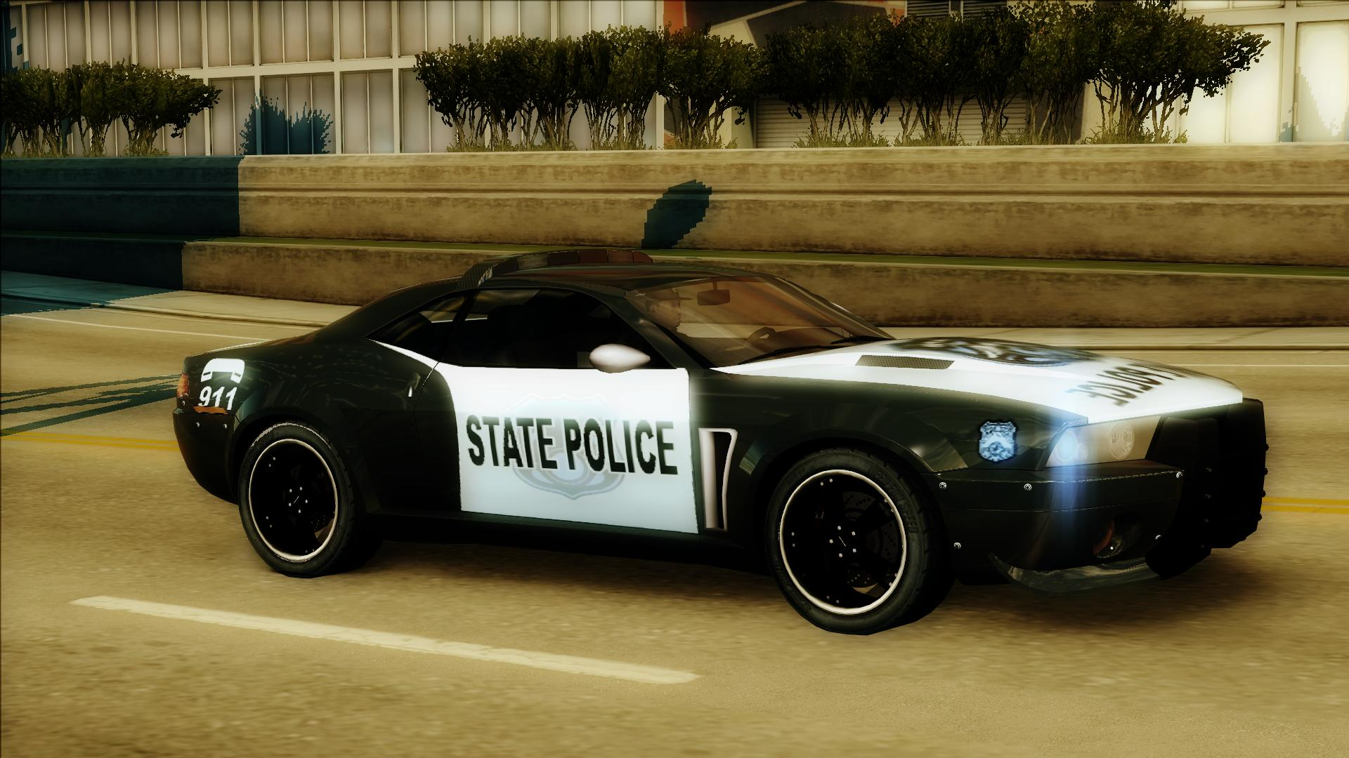 Police State Muscle Cruiser