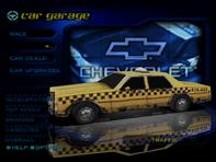 Traffic Caprice Cab in the garage