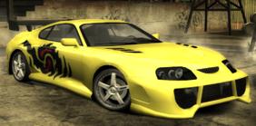 NFSMW Toyota Supra Mk4 Ronnie