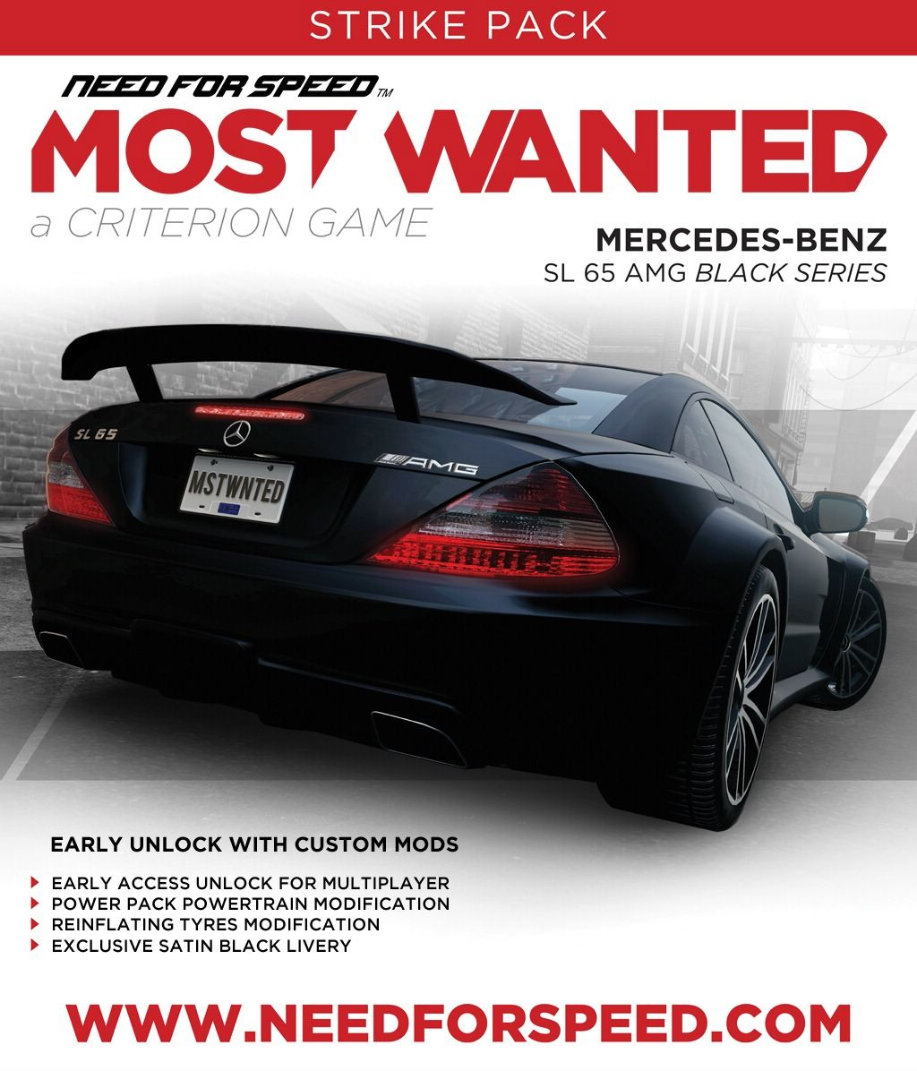 Need for Speed: Most Wanted (2012)/Booster Pack