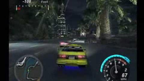 Need for Speed Underground 2 - Beacon Hill Outrun