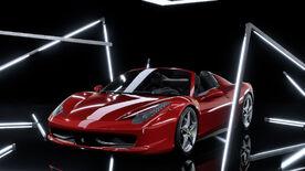 NFSHE Ferrari458Spider Stock