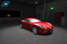 Alfa Romeo 8C Competizione Shift 2 Unleashed Mobile