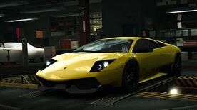 NFSW Lamborghini Murcielago LP 670-4 SV Yellow