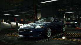 NFSW Jaguar XKR Blue