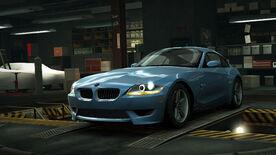 NFSW BMW Z4 M Coupé Blue