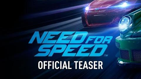 Need for Speed (2015) Teaser