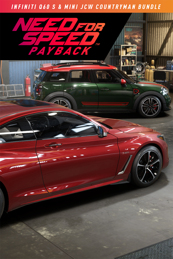 Need for Speed: Payback/Mini John Cooper Works Countryman & Infiniti Q60 S Bundle