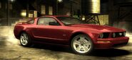Nfs most wanted ford mustang gt