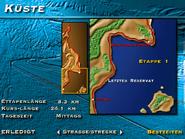 Küste, Etappe 1