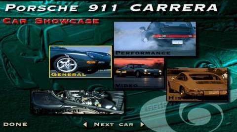 The Need for Speed SE - Porsche 911 Carrera Showcase