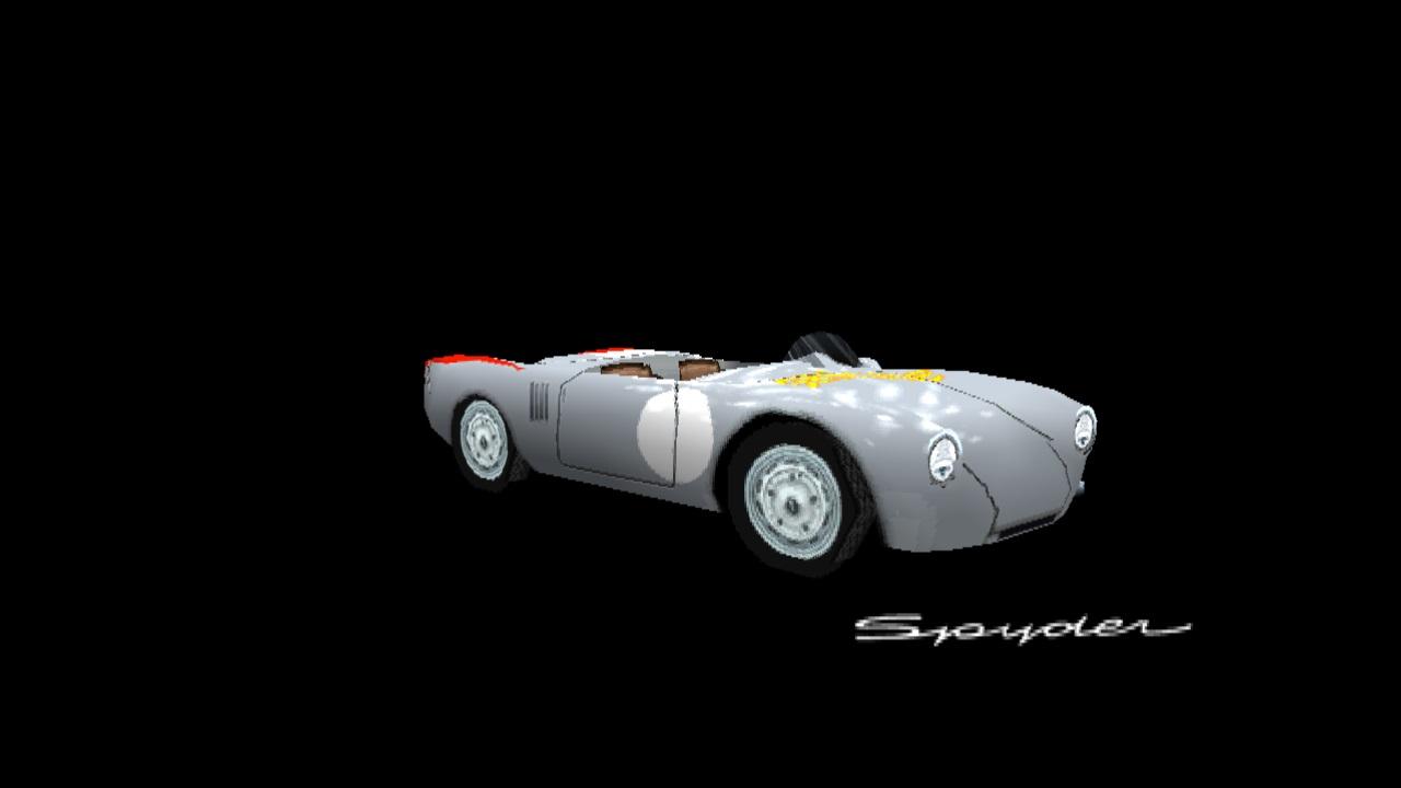 Porsche 550 Spyder Panamericana