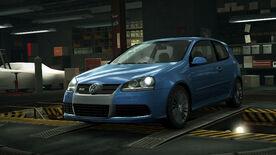 NFSW Volkswagen Golf R32 Blue