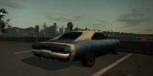 Nfs world dodge charger geparkt
