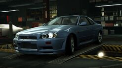 WORLD Nissan Skyline GT-R V-Spec R34