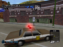 Hometown PD Chevrolet Caprice in the PSX version of Need for Speed III Hot Pursuit