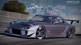 Mazda RX-7 Shift 2 unleashed