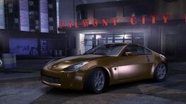 NFSC Nissan 350Z Stock