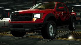 NFSW Ford F-150 SVT Raptor Red Juggernaut