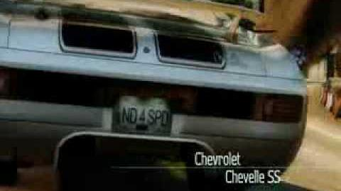NFS Undercover Chevelle SS