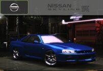 U2 Nissan Skyline GTR