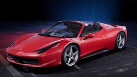 NFSHE App Ferrari 458Spider