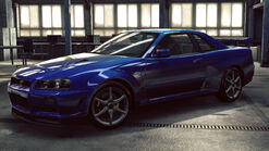 NFSNL Nissan Skyline GT-R V-Spec R34