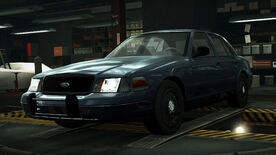 NFSW Ford Crown Victoria Police Interceptor Blue